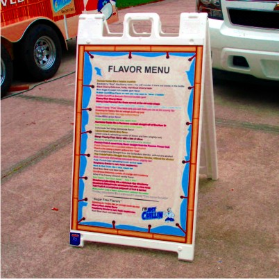 A Frame Display Signs