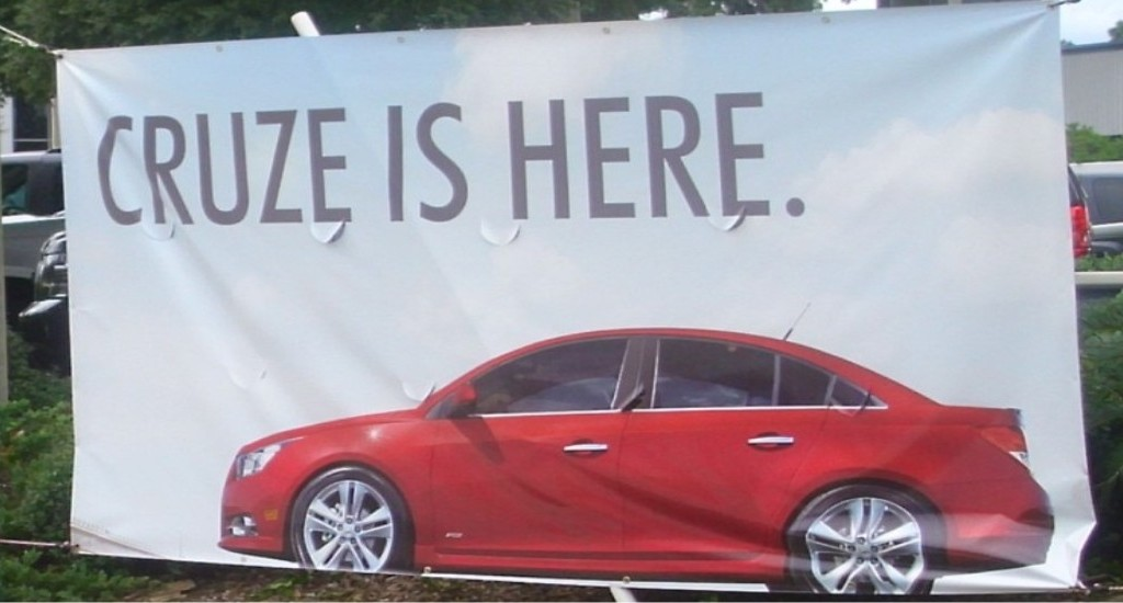 Marketing Banner - Gordon Chevrolet