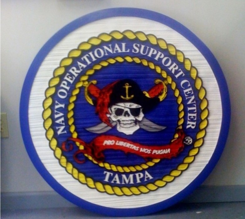 Navy Operational Support Center Tampa - Military Signs