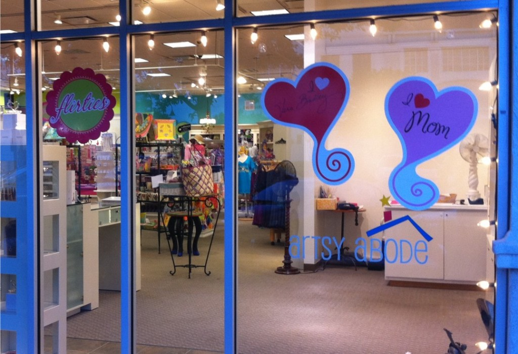 Point of Sale Storefront Graphics - Artsy Abode