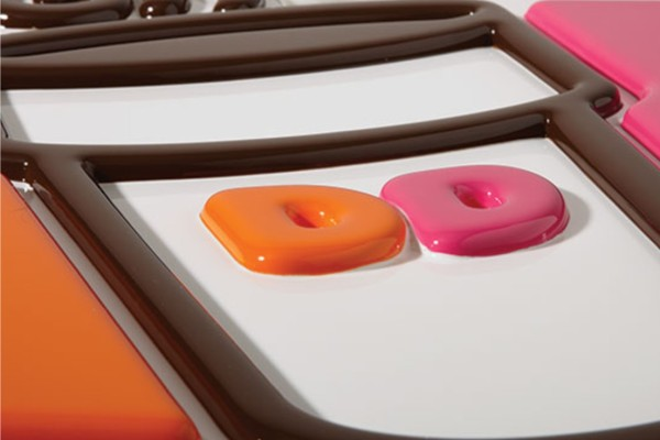 Formed Plastic Letters - Dunkin Donuts