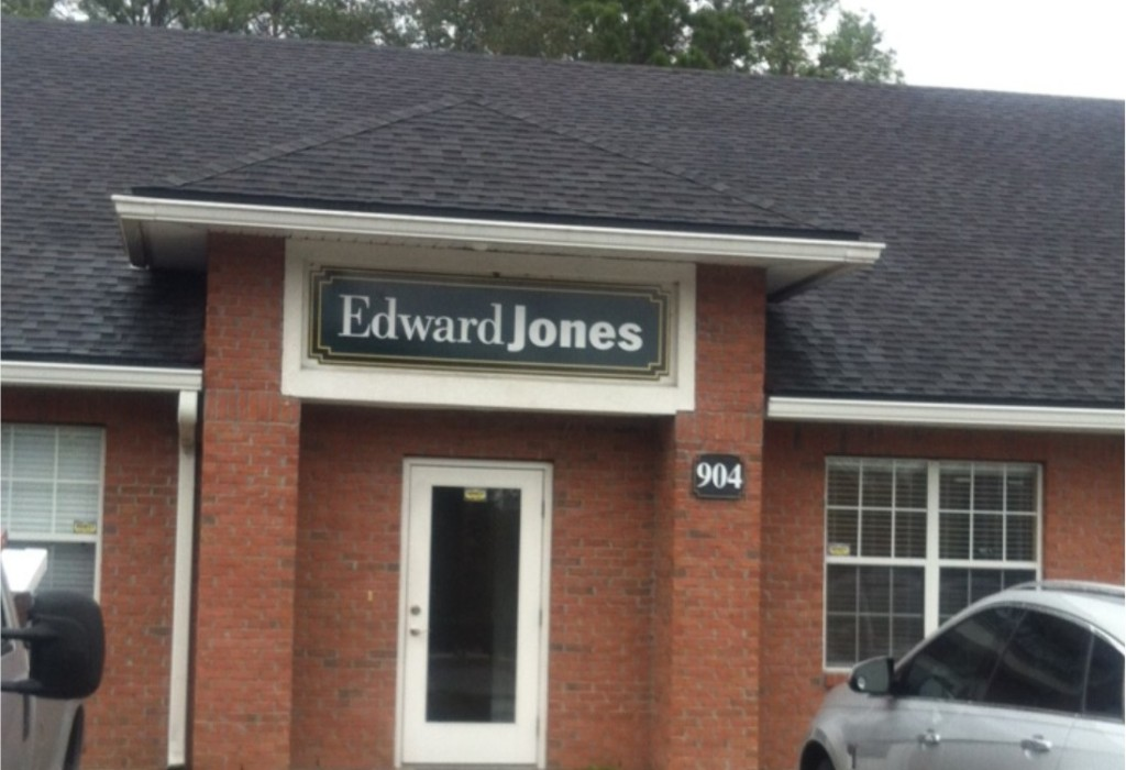Wall Sign - Edward Jones Jacksonville Florida