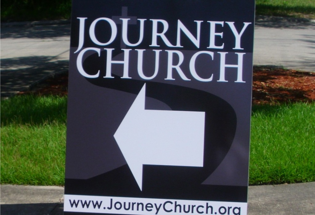 Custom A Frames - Journey Church