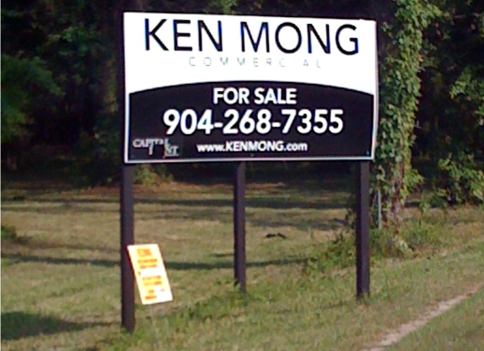 Real Estate Signs - Lot Signs - Jacksonville Florida