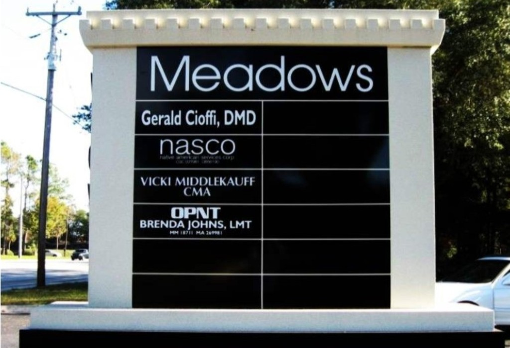 Monument Sign - Meadows Medical