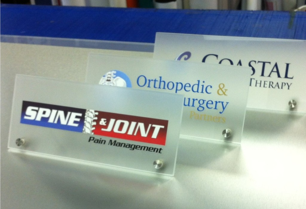 Desktop Medical Office Signs