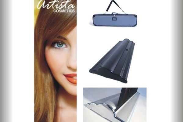 """Retractable Banner Stands - SilverStep 24"""""""