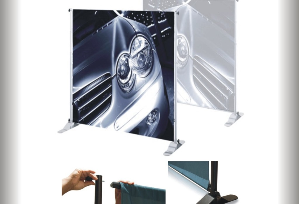 Banner Displays - Small Tube - Jacksonville, Orange Park & Orlando Florida