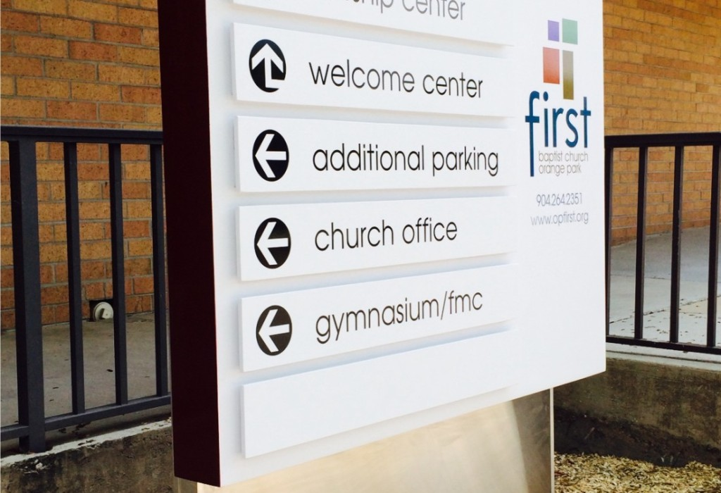 Directional Signs - Wayfinding Signs