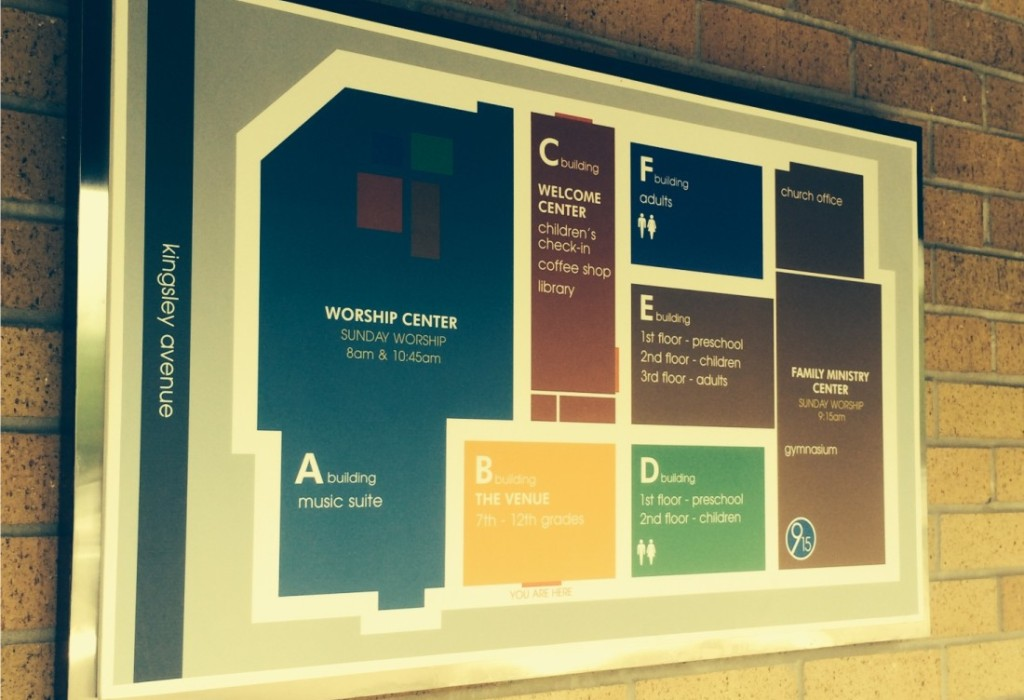 Directory Signs - Directional Signs