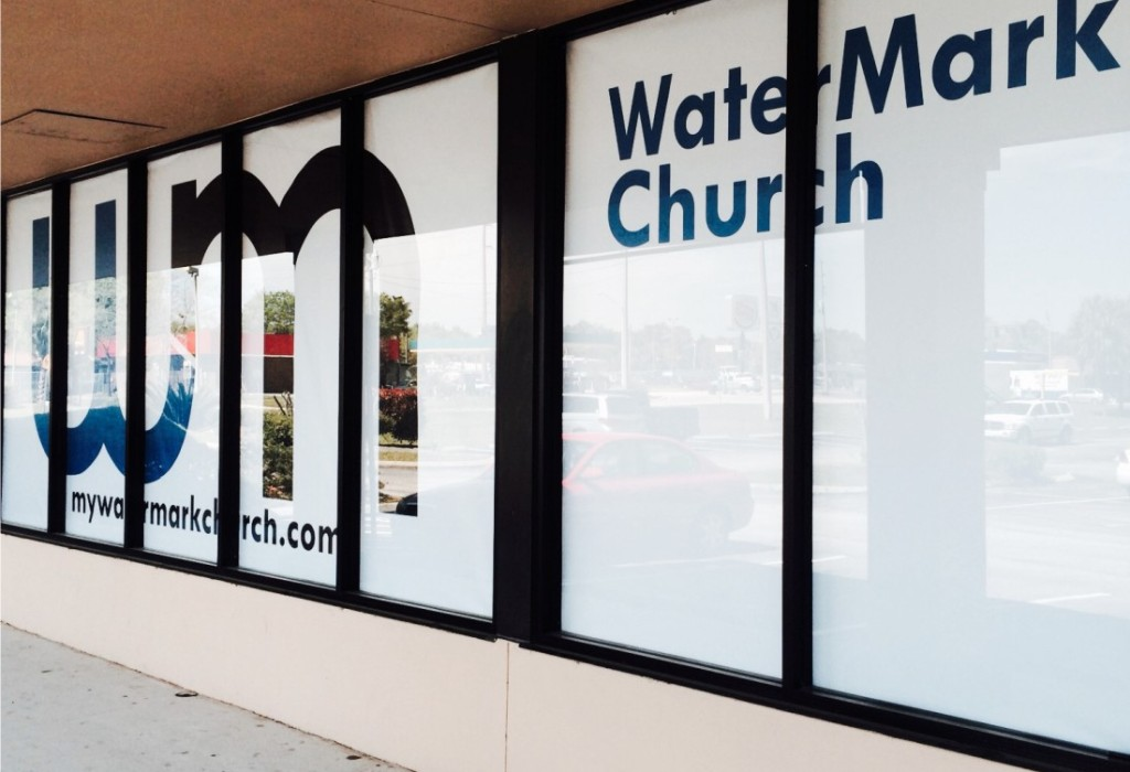 Storefront Graphics - Environmental Graphics
