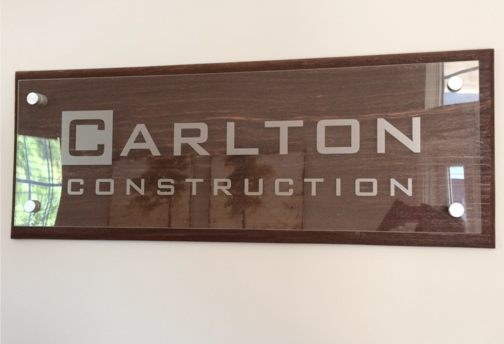 Wall Display - Carlton Construction